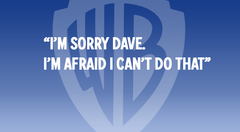 """I'm sorry Dave, I'm afraid I can't do that"" WARNER BROS. UK MOVIE QUOTES QUIZ"
