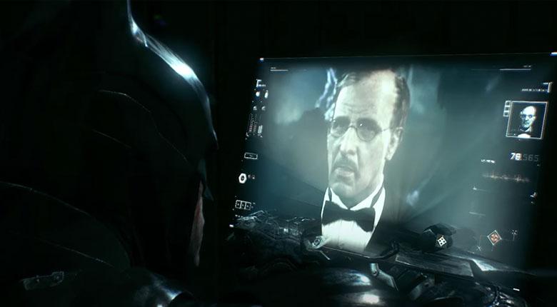 batman arkham alfred hologram