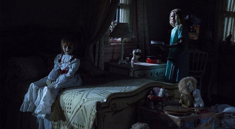 Annabelle doll scene
