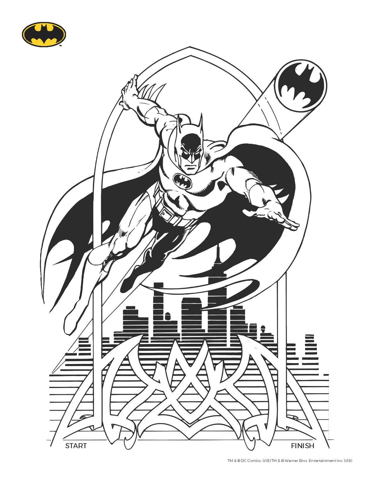 batman printable