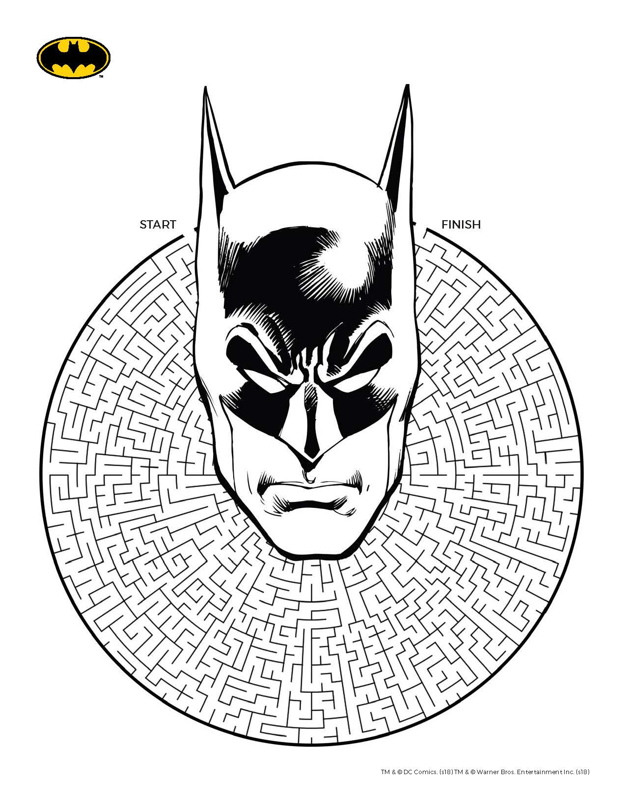 batman printable