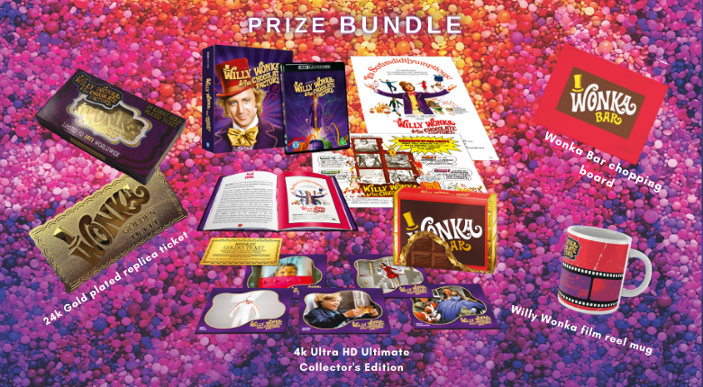 Willy Wonka 50th Anniversary Competition