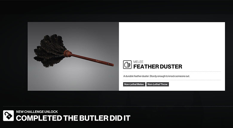 Hitman 2 Feather Duster