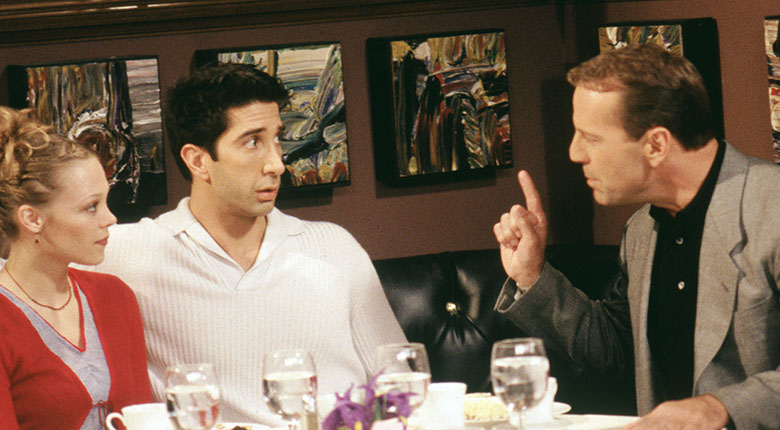 Friends - Bruce Willis cameo