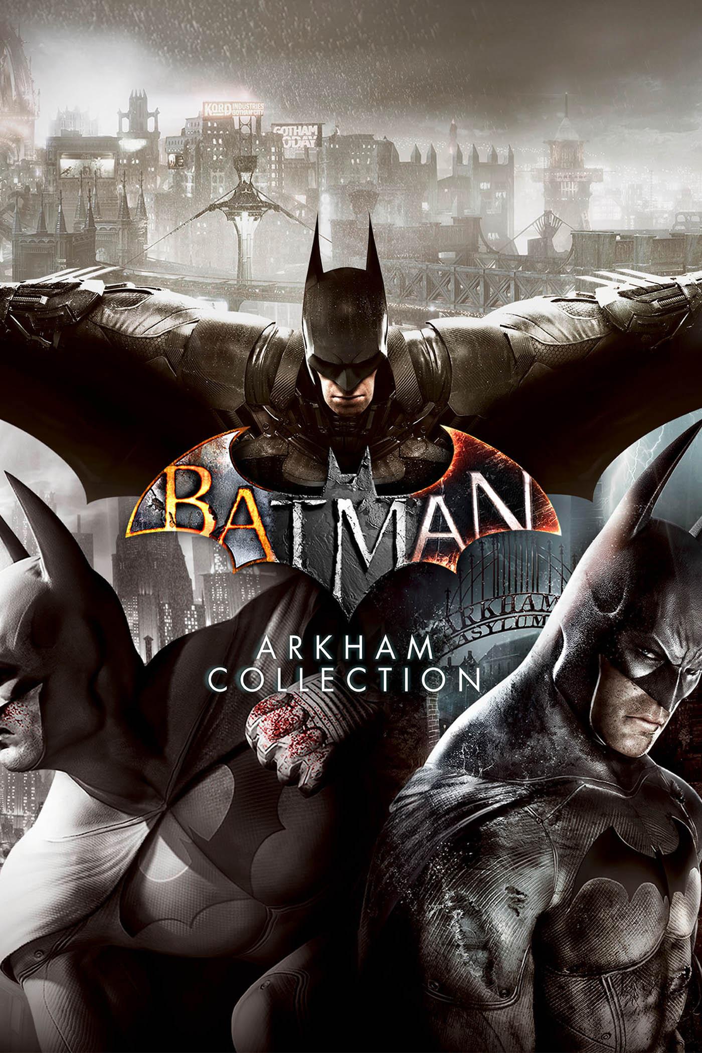 BATMAN: ARKHAM ASYLUM: GAME OF THE YEAR (INCLUDES DLC)