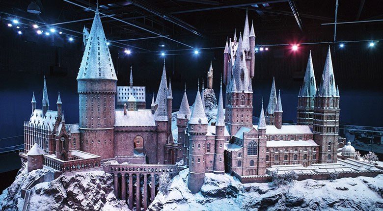 Harry Potter Hogwarts in the Snow