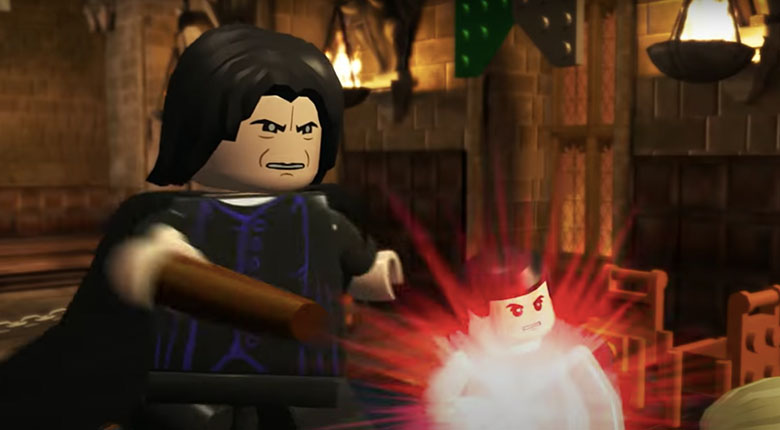Snape Lego HP