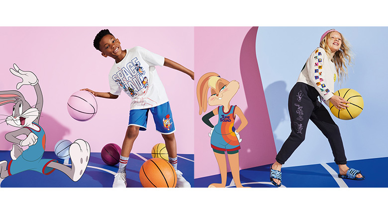 M&S, Space Jam, Clothing, Basketball