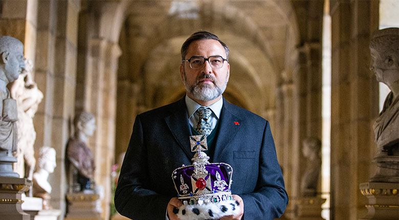 David Walliams in The Queen and I