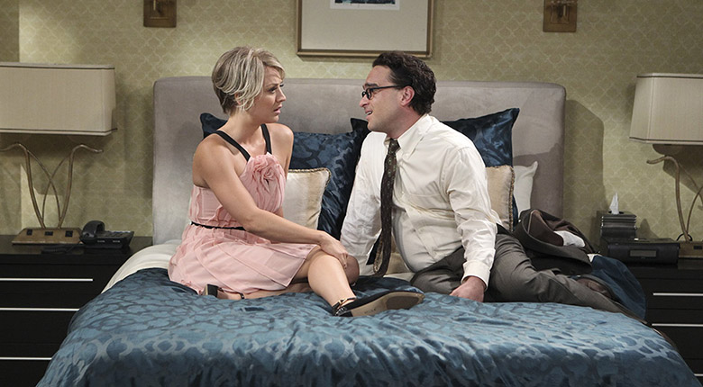 The Big Bang Theory Leonard and Penny