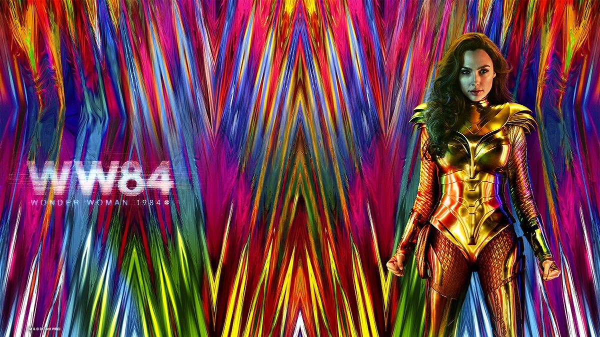 Wonder Woman 1984 background